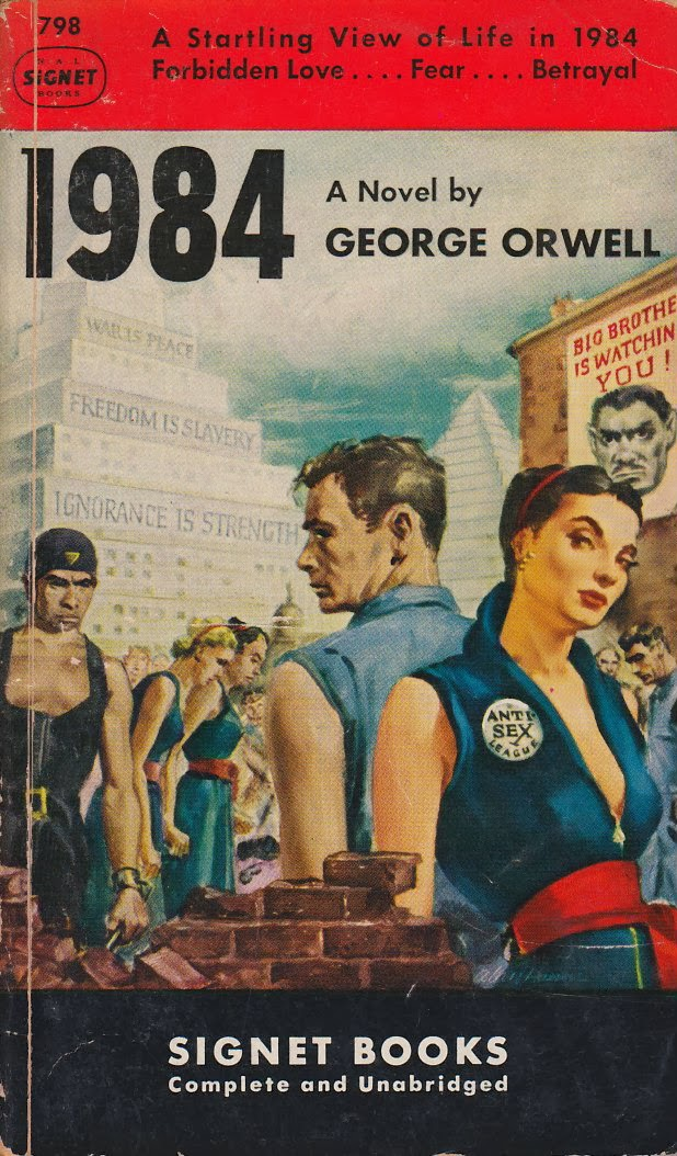 love george orwell s 1984 The family unit of oceania in george orwell's book, 1984, plays an important part to society these families are broken rather than households of affection and comfort.