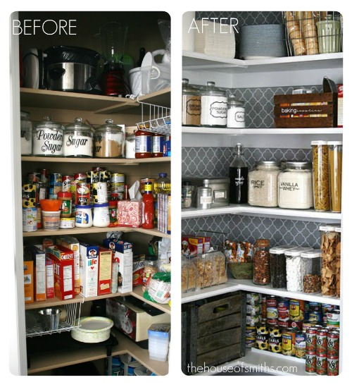 Organized Pantry And Pantry Tips: Kitchen Organization Tips