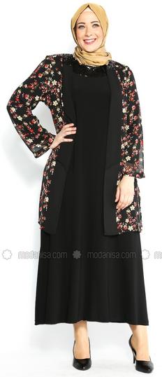 Desain Baju Batik Muslim untuk Wanita Gemuk