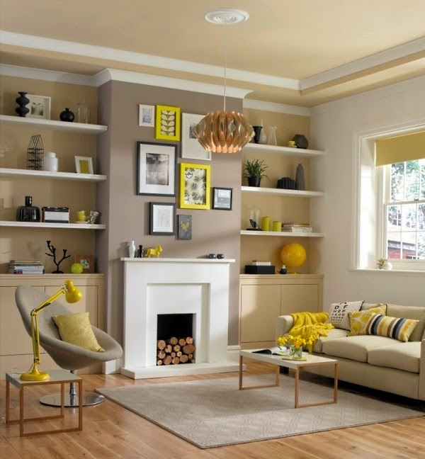 15 functional living room shelving ideas and units Decorative shelves ideas living room