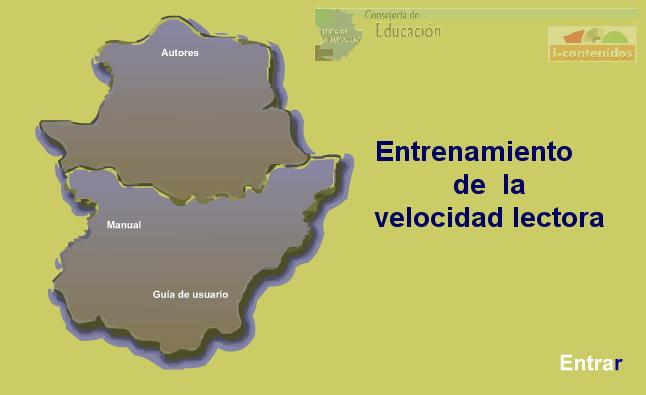 Velocidad lectora Extremadura