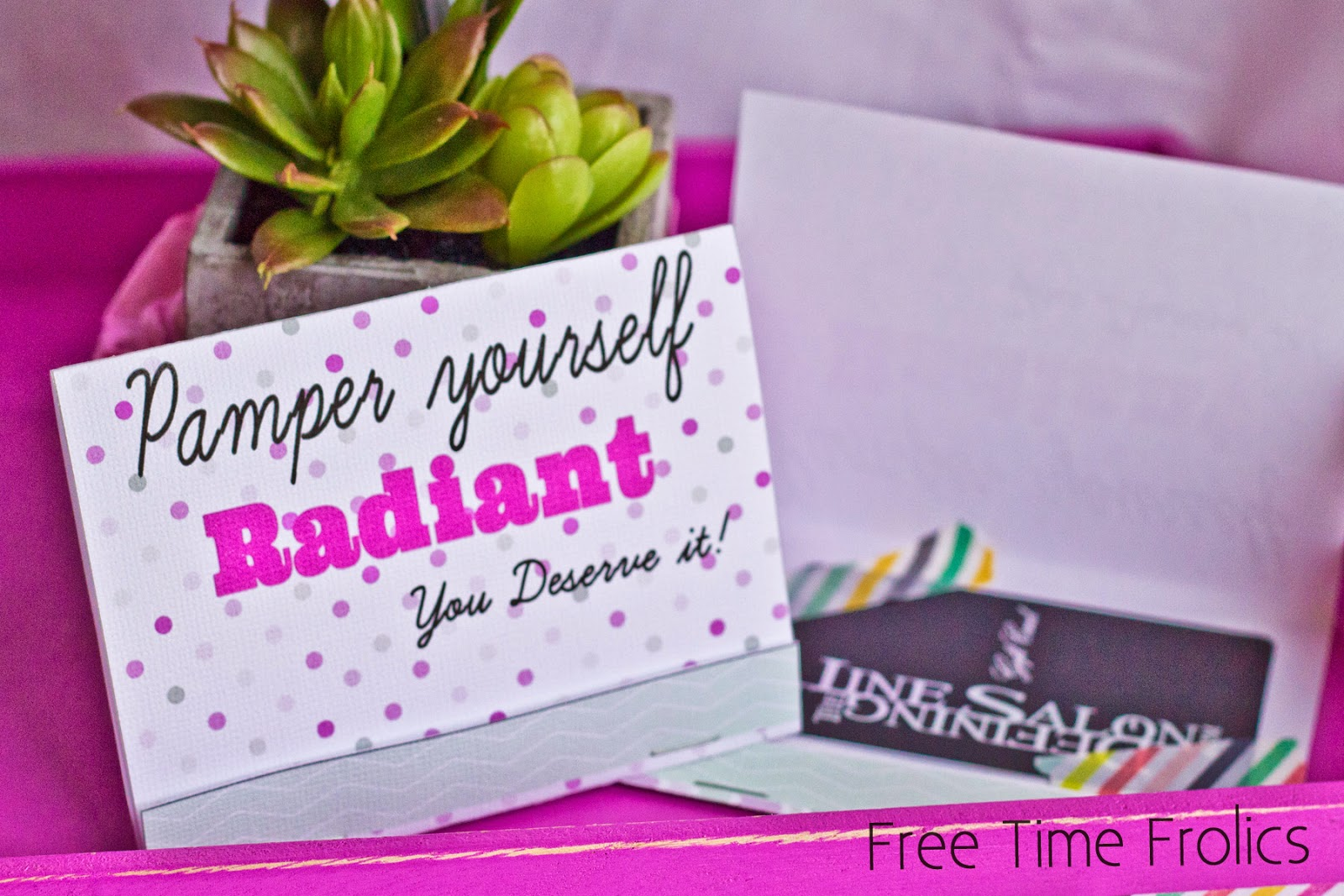 gift card holder printable www.freetimefrolics.com