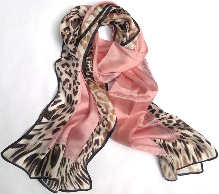 Cavalli silk scarf