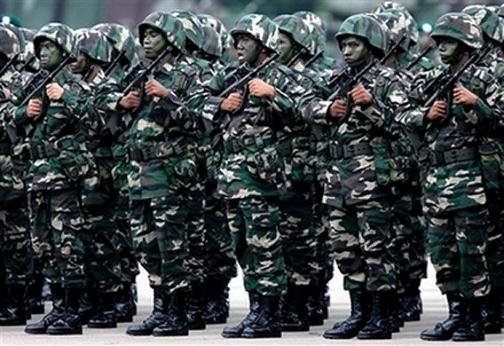 Malaysian soldier army day celebration news