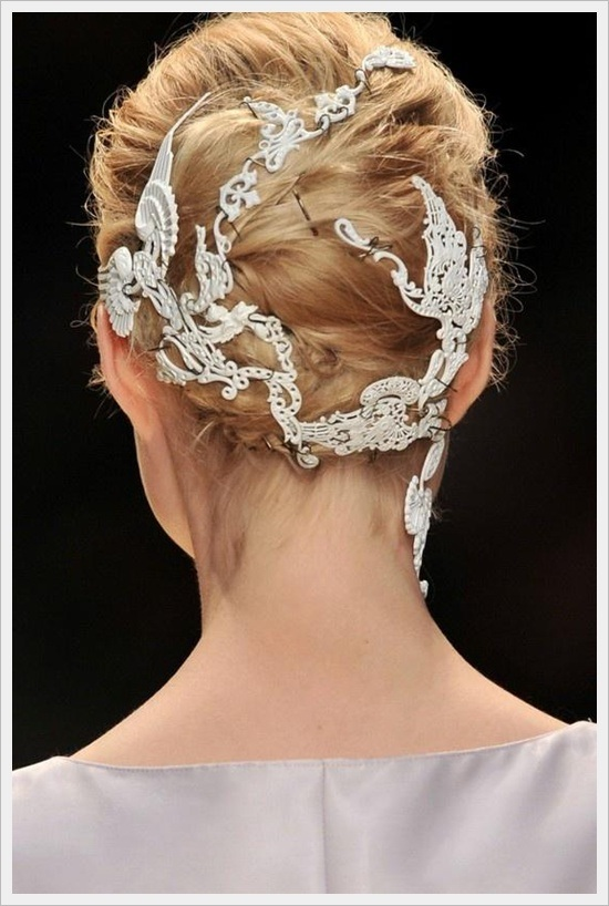 Bun Hairstyles For Brides
