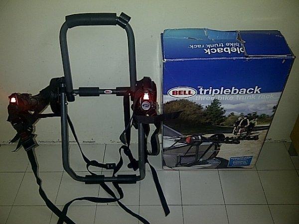 Bell Bike Rack : Mountain bikers ahmad fuji bell bike rack