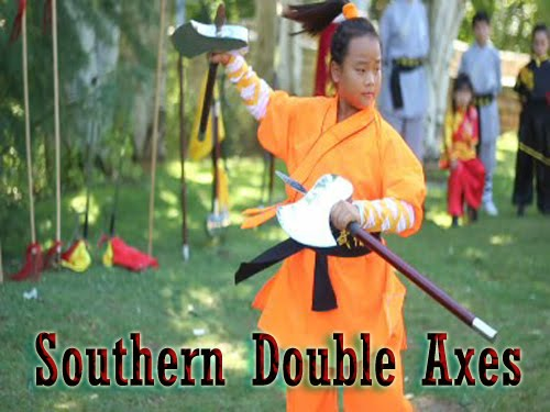 Southern Double Axes ( Hachas Forma Kung Fu)
