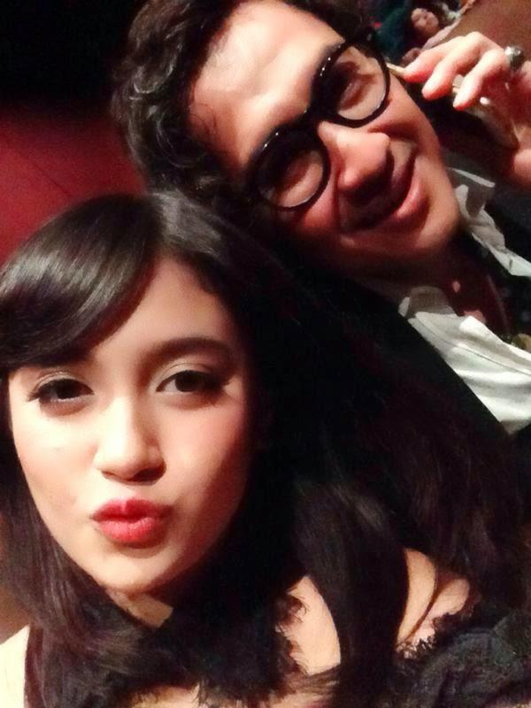 Foto Nabilah JKT48 Dengan Agus Kuncoroadi
