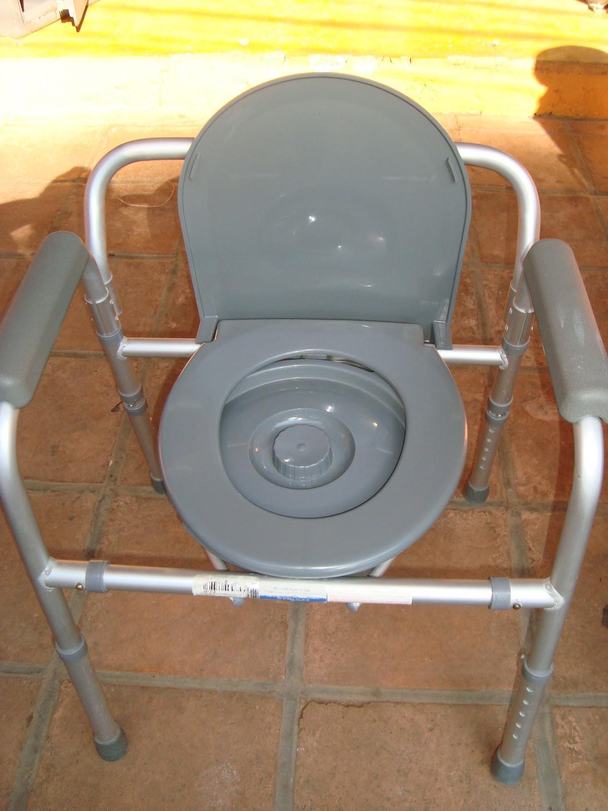 Eureka valle asiento wc para discapacitados enfermos for Regadera para discapacitados