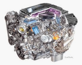 LT4 Supercharged V8 Engine