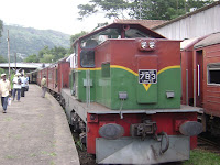 Podi menike train at Badulla