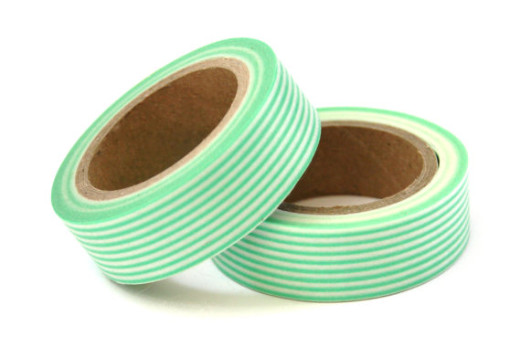 mint washi tape