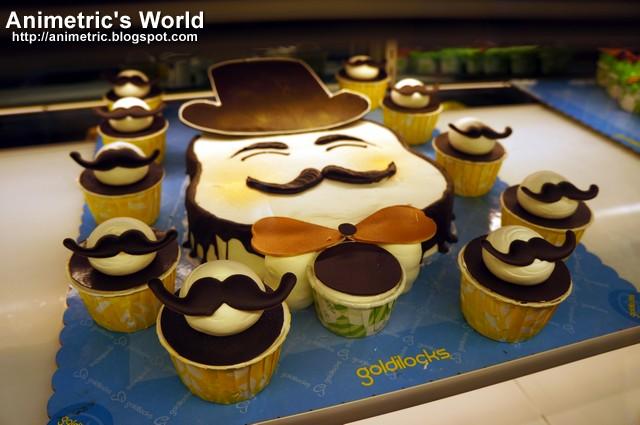 Cake With Cupcakes Goldilocks : Goldilocks Cake Deco Expo 4 - Animetric s World