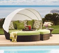 Baleares Bronze Modular Outdoor Lounger, Frontgate Outdoor Daybeds, Outdoor  Patio Daybeds, Outdoor Daybeds