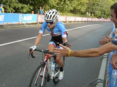 Lex Albrecht, women's pro cycling, UCI, World Cycling Championships 2013, Florence Italy, Specialized Bikes, High Five