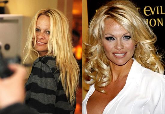 Les stars sans maquillage : Pamela Anderson
