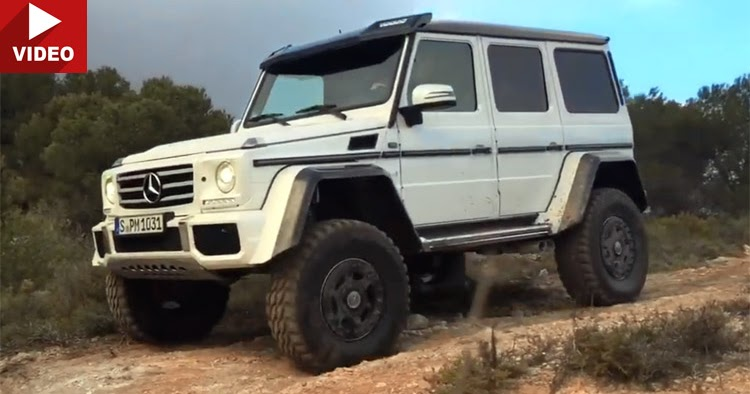 new mercedes benz g500 4x4 with 4 0 liter v8 turbo detailed and filmed in action. Black Bedroom Furniture Sets. Home Design Ideas