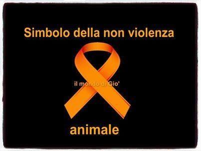 Simbolo della non violenza sugli animali
