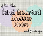 kind hearted blogger