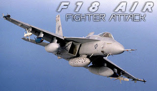 Screenshots of the F18 air fighter attack for Android tablet, phone.