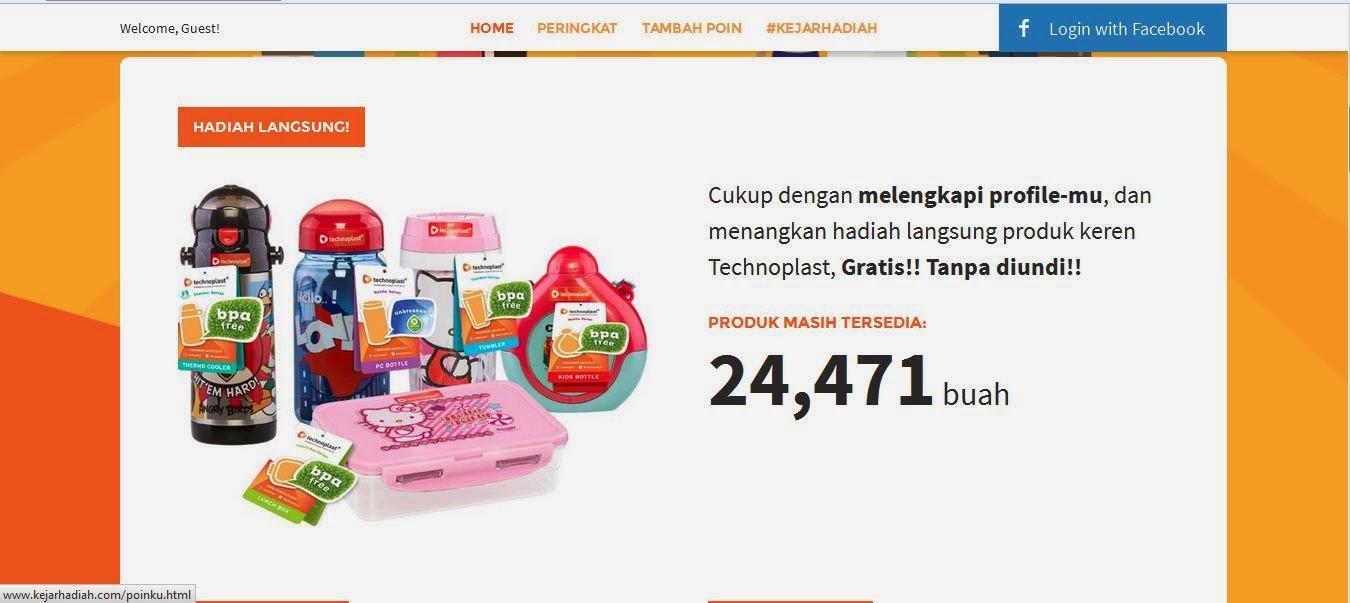 Hadiah Gratis Promo Technoplast