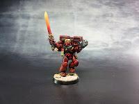 Blood Angels - Escuadra de Asalto - Warhammer 40000 - Sargento 1