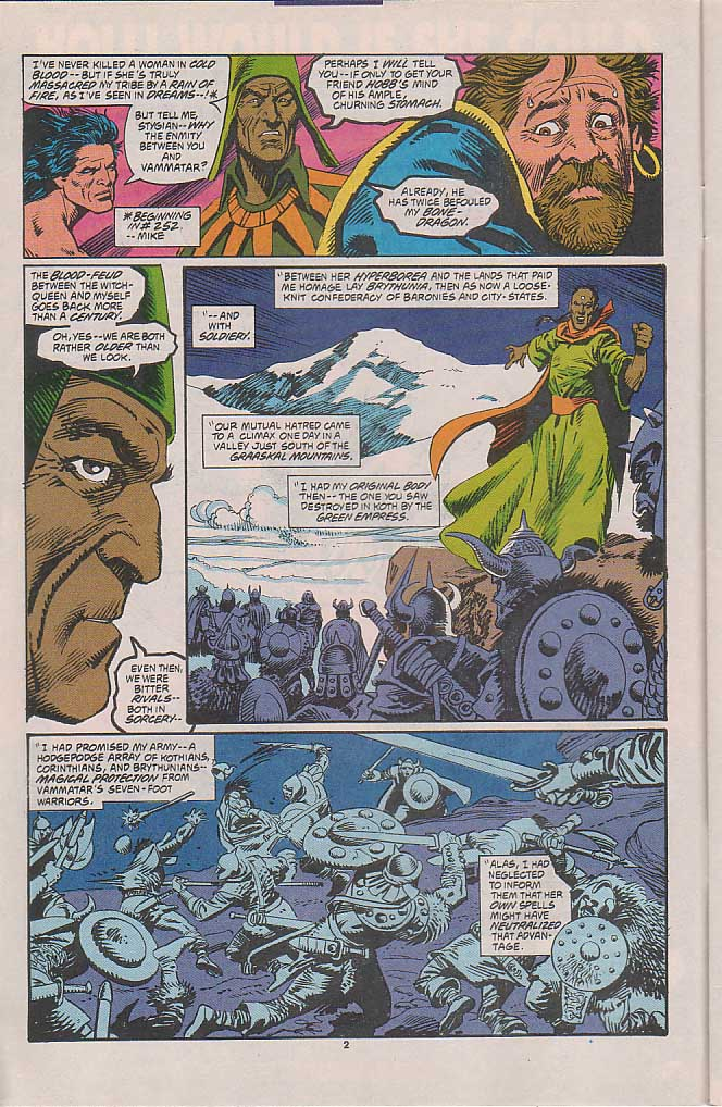 Conan the Barbarian (1970) Issue #258 #270 - English 3