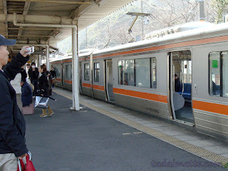 Tokaido trains in Japan