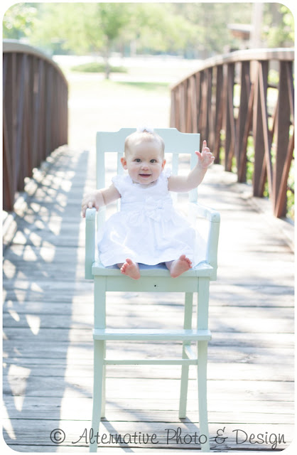 Sweet Little {A} 7 Months | Baby Photographer Janesville, WI
