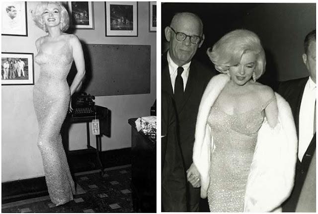 Мэрилин Монро в платье от Жана Луи