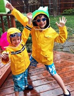 boys, rain
