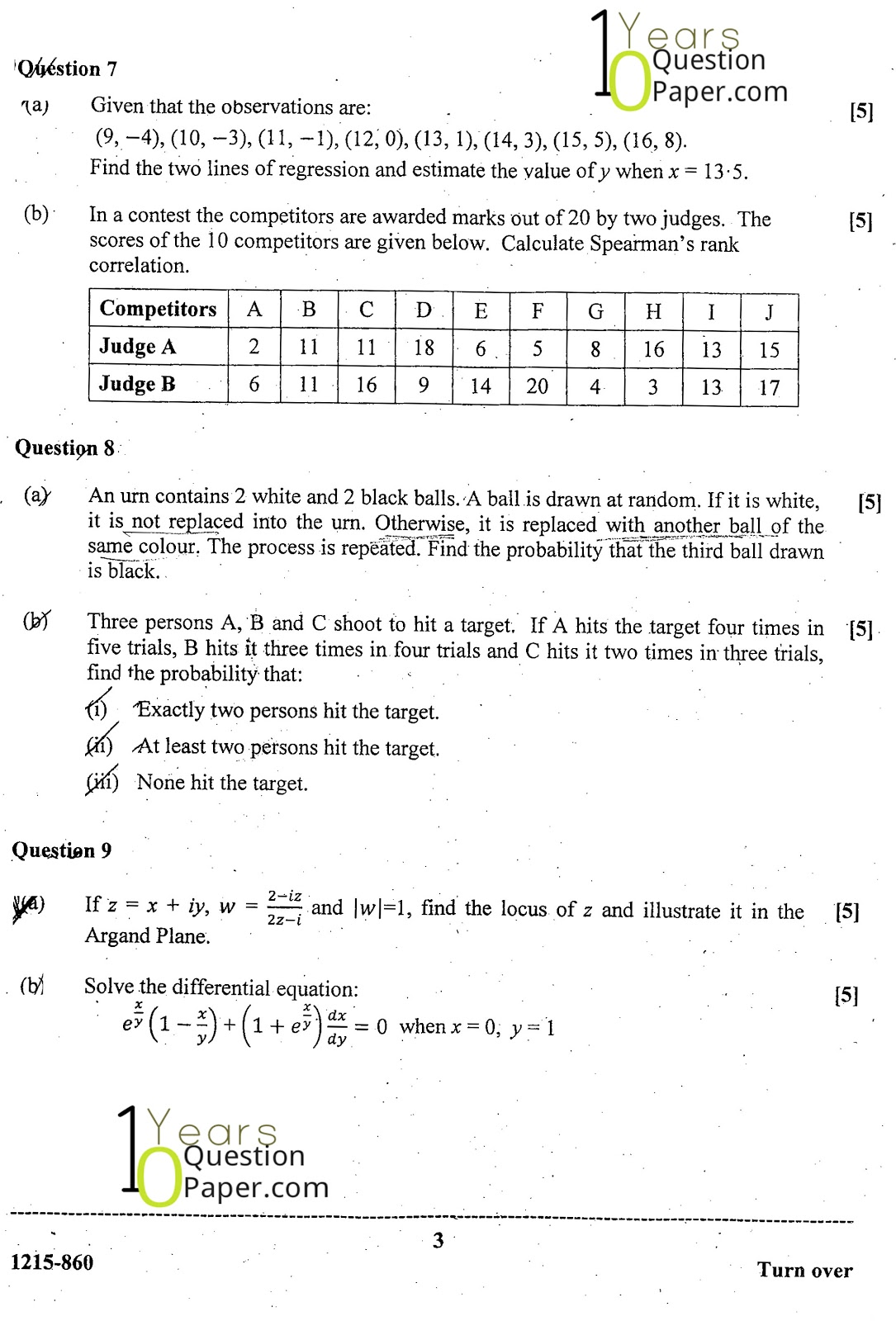 isc 2015 class 12th Mathematics question paper