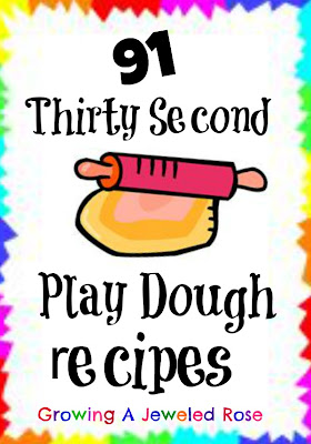 91 thirty second play dough recipes
