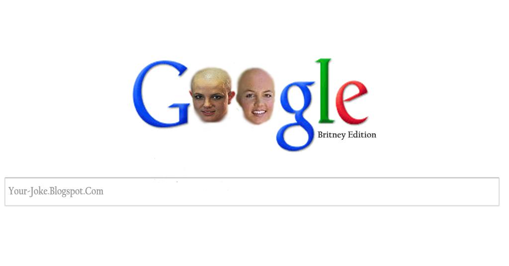 Special edition Britney google Doodle