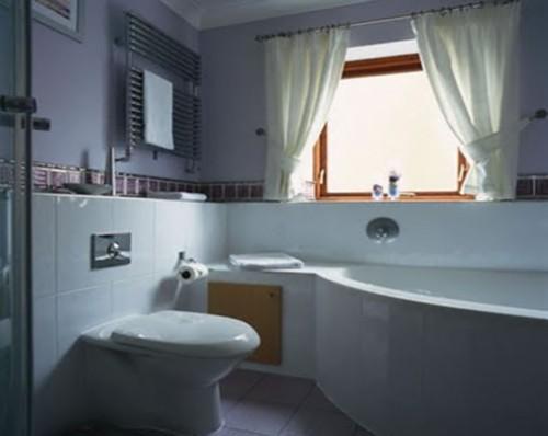 kamar tidur konsep warna senada dan lebih redup membuat kamar tidur