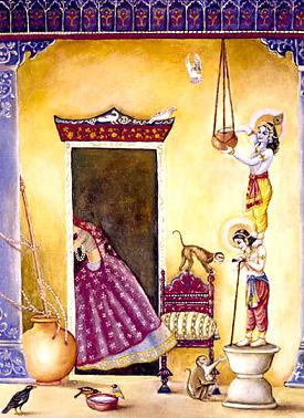 naughty lord krishna