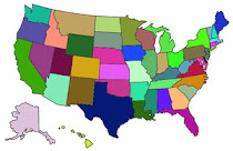 50 States Visited by Kellisa & Laurel