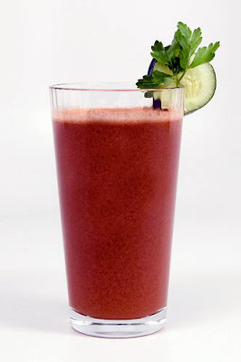 Tomato and Cucumber Juice