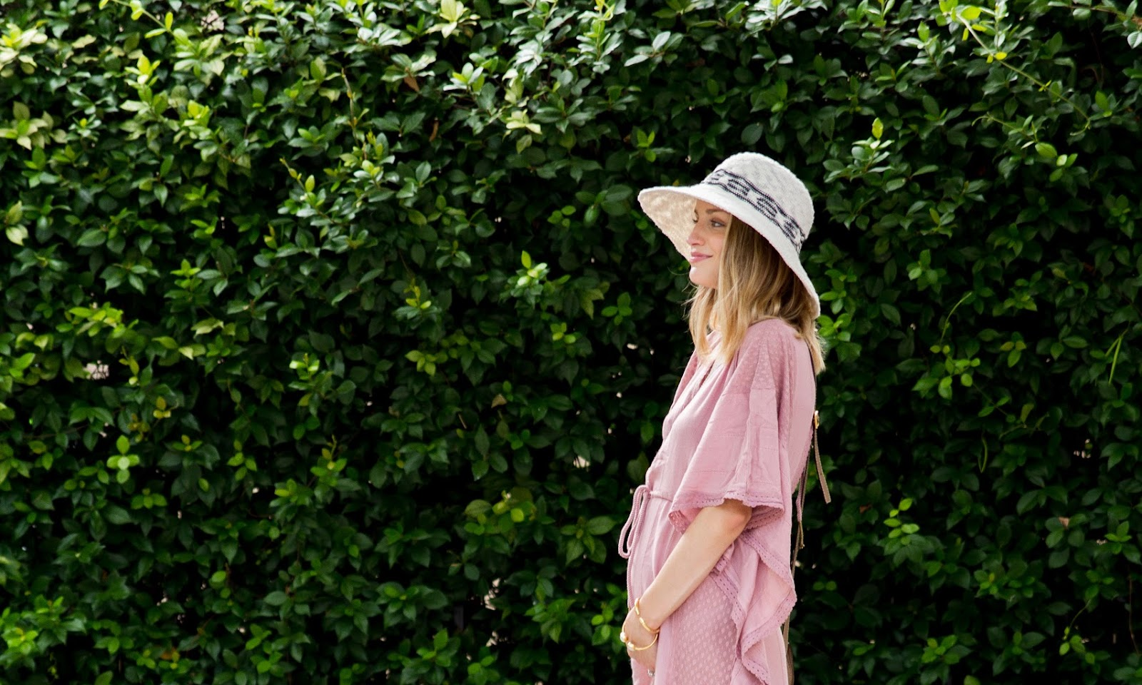 Summer Caftan: Maternity Style