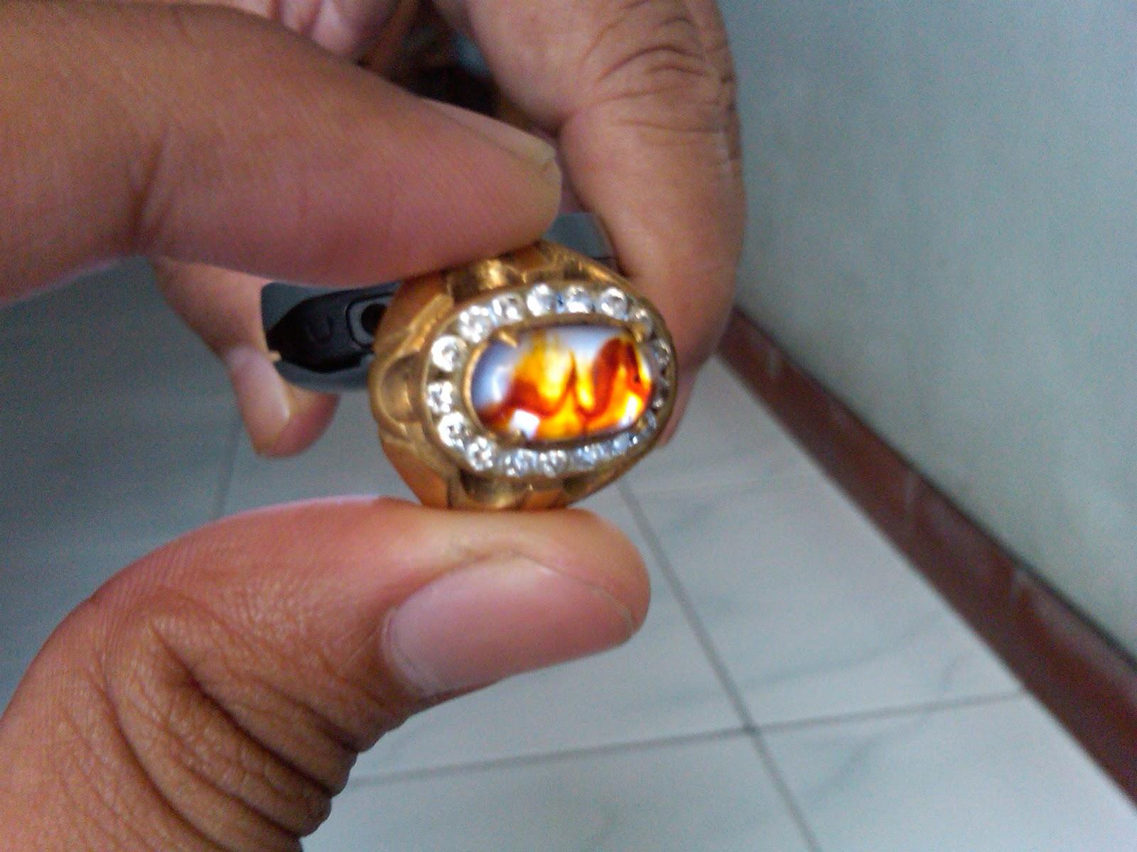 DIJUAL Batu Cincin Lafaz ALLAH Amp Naga Emas