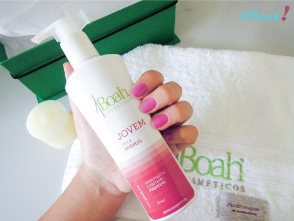 Review creme hidratante para o corpo MBoah - Feminino Jovem Pele Normal