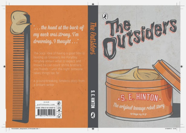 The Outsiders Drawing Book Cover : Design context penguin book cover research