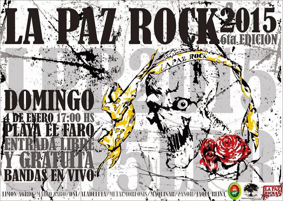 Se viene otra edición de La Paz Rock