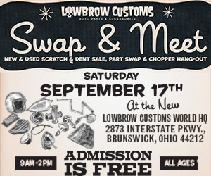 Lowbrow Customs' Swap and Meet
