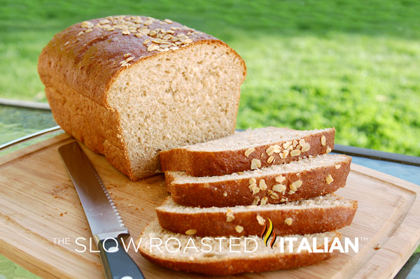 ... Slow Roasted Italian - Printable Recipes: Honey Wheat Oatmeal Bread