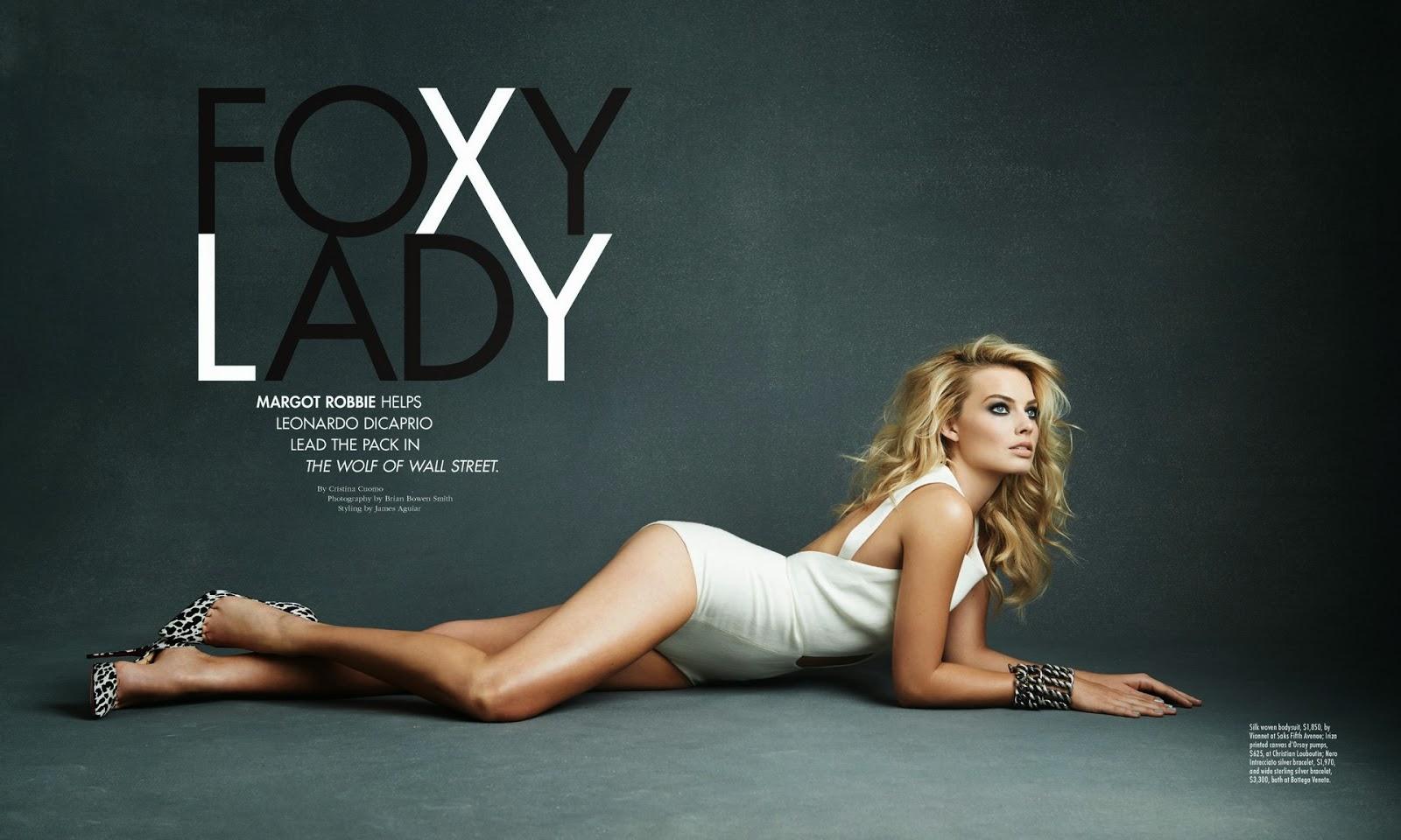 Magazine Photoshoot : Margot Robbie Photoshot For Manhattan Magazine January / February 2014 Issue