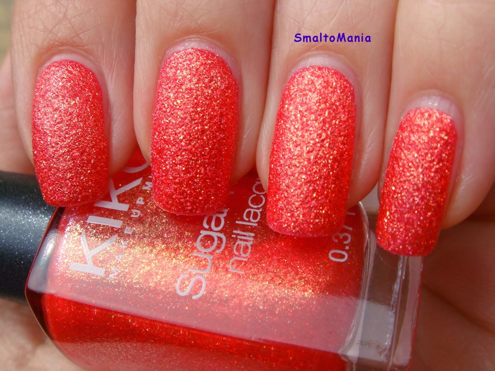 Kiko Sugar Mat n.640 Rosso Papavero