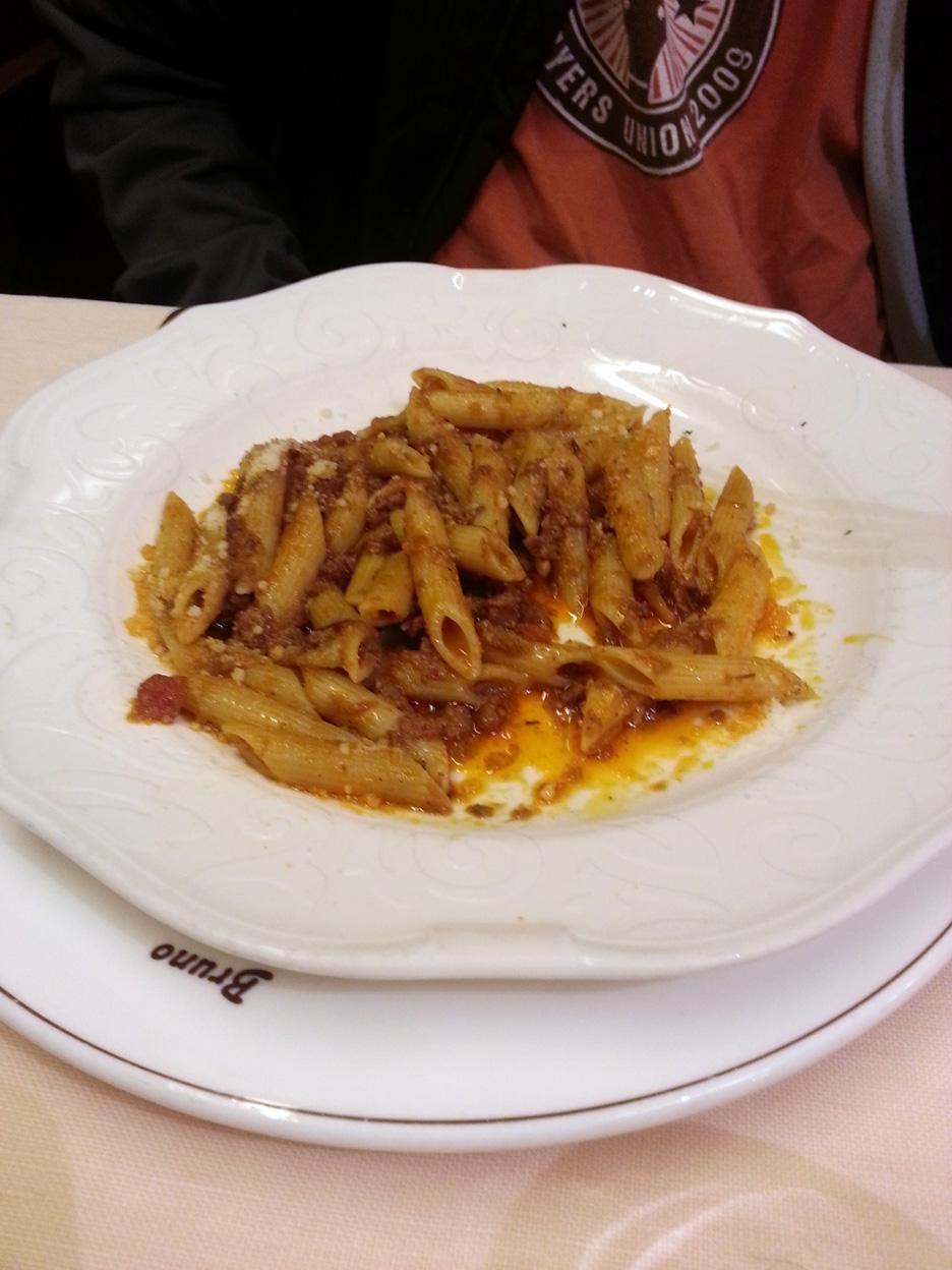 rabbit pasta