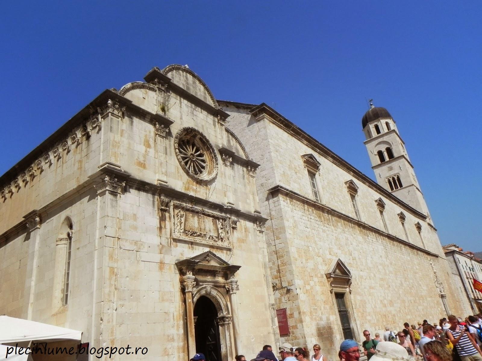 Biserica in Dubrovnik