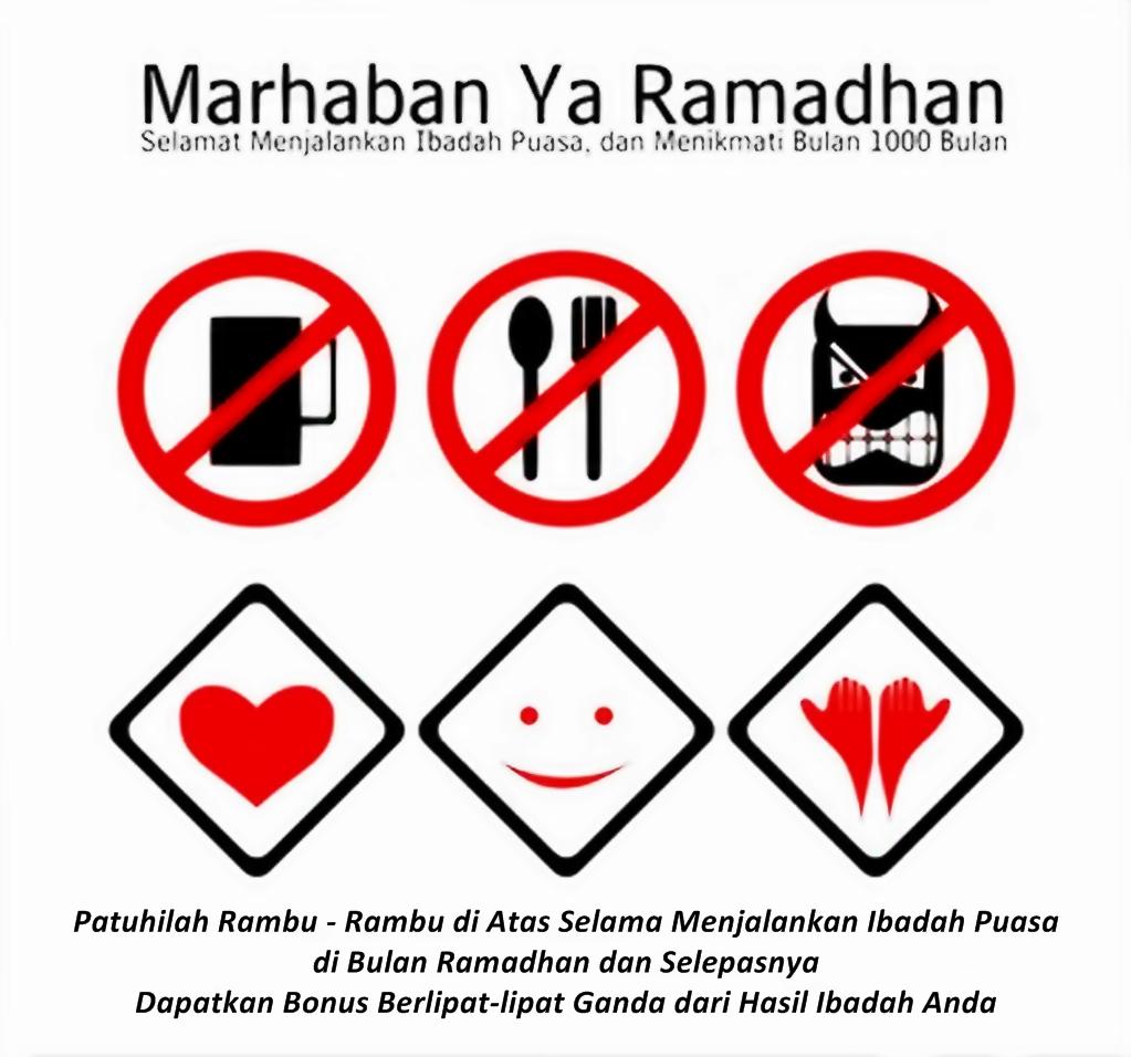 4 Larangan Sebelum Puasa Ramadhan